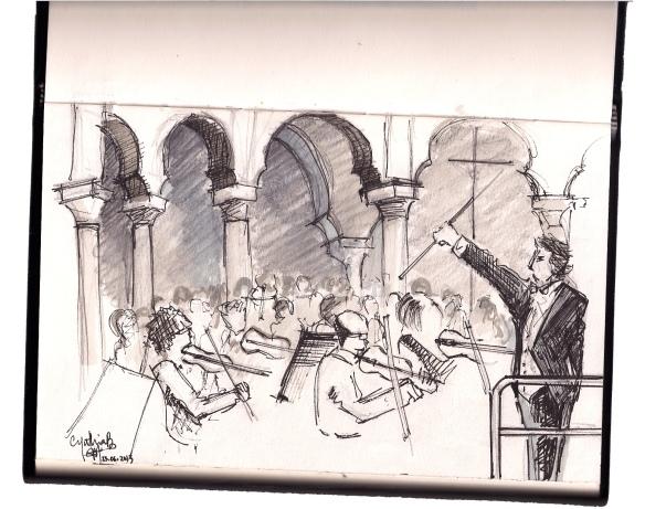 Avec les concerts de l'orchestre gratuits, c'est la fête de la musique chaque vendredi!