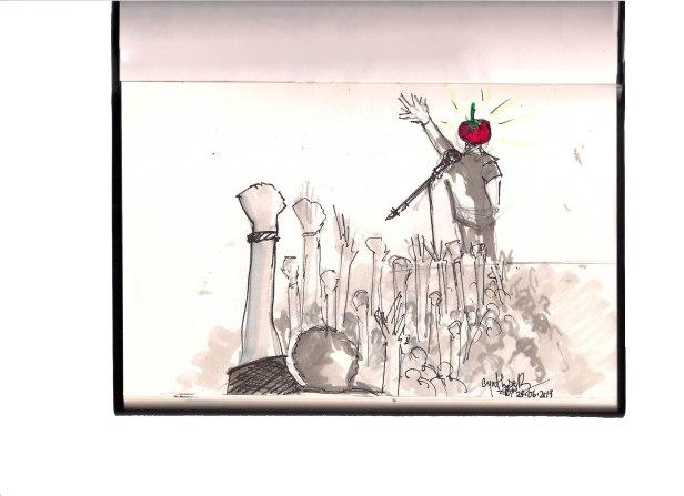 Les tomates sont sacrées - #Meen Lebanese rock